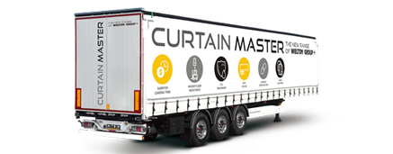 Curtain semi-trailers