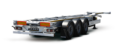 Container semi-trailers