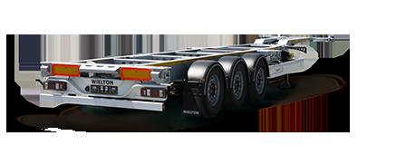 Container semi-trailers