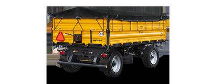 2-axle trailers