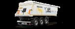 Tipper semi-trailers