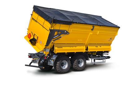 PRC-2HP/W18 agricultural side tipper
