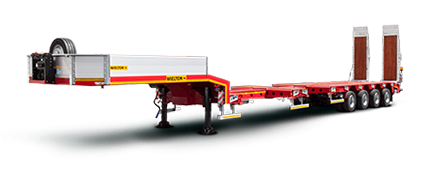 Extendable semi-trailer