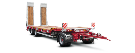 Trailer with turn-table